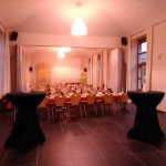 Grande salle en mode festivité