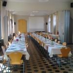 Grande salle en mode repas'